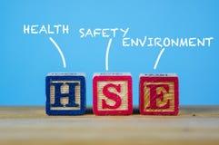 Infographic常用安全卫生的词或者的期限 图库摄影