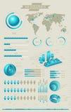 Infographic收集 库存例证