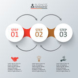 infographic的传染媒介元素 免版税库存图片