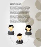 infographic的传染媒介元素 免版税图库摄影