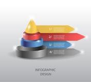 infographic的传染媒介或网络设计模板 库存例证
