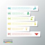 infographic的传染媒介条纹 免版税图库摄影