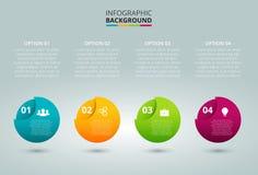 infographic的传染媒介球形 免版税库存图片