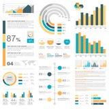 infographic的要素 库存照片