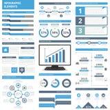 infographic的要素 免版税图库摄影