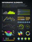 infographic设计的要素 免版税库存图片