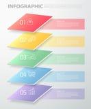 Infographic πρότυπο επικαλύψεων μπορέστε να χρησιμοποιηθείτε για τη ροή της δουλειάς, σχεδιάγραμμα, διάγραμμα Στοκ Εικόνες