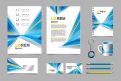 Infographic σύνολο προτύπων στοιχείων επιχειρησιακής παρουσίασης Στοκ εικόνες με δικαίωμα ελεύθερης χρήσης