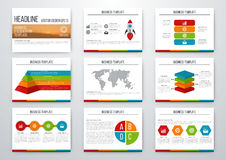 infographic σύνολο στοιχείων Στοκ Φωτογραφίες