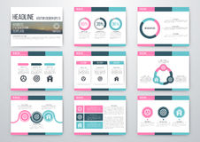 infographic σύνολο στοιχείων Στοκ φωτογραφία με δικαίωμα ελεύθερης χρήσης