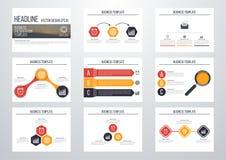 infographic σύνολο στοιχείων Στοκ Εικόνες