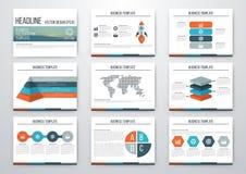 infographic σύνολο στοιχείων Στοκ Εικόνα