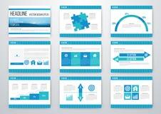 infographic σύνολο στοιχείων Απεικόνιση αποθεμάτων