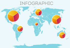 Infographic Stockfotos