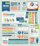 Infographic Obraz Royalty Free