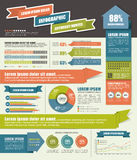 Infographic. Set of infographic elements for showing statistics and demographics
