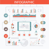 Infographic Photo stock