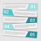 企业传染媒介例证的Infographic模板 库存图片