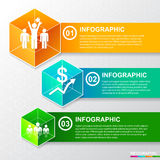 InfoGraphic 01 Obrazy Royalty Free
