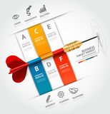 Шаблон концепции дела infographic Животики дела Стоковые Фотографии RF