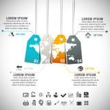 Infographic Στοκ Εικόνες