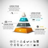 Infographic Arkivbilder