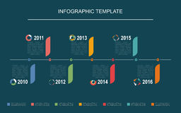 Infographic Royalty-vrije Stock Afbeelding