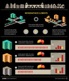 Infographic Стоковое фото RF