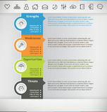 Infographic Zdjęcie Stock