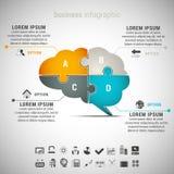 Infographic Zdjęcie Royalty Free
