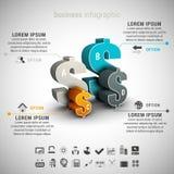 Infographic Stock Fotografie