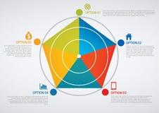 Infographic Royaltyfri Fotografi