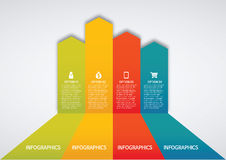 Infographic Arkivbild