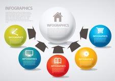 Infographic Stockfotografie