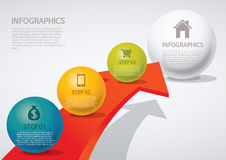 Infographic Lizenzfreie Stockfotos