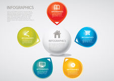Infographic Obrazy Royalty Free