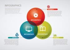 Infographic Stockbild