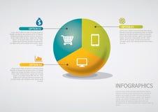 Infographic Stockfoto