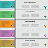 Infographic 5 Imagens de Stock