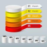 Infographic Photographie stock