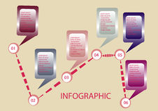 Infographic Στοκ φωτογραφίες με δικαίωμα ελεύθερης χρήσης