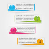 Infographic Fotografia Stock Libera da Diritti