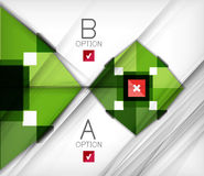 Infographic abstract background. Arrow geometric shape. For business presentation   technology   web design Royalty Free Stock Images