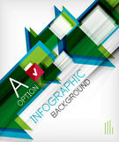 Infographic abstract background Stock Photos