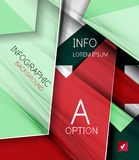 Infographic abstract background Royalty Free Stock Images