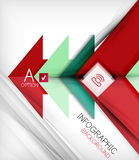 Infographic abstract background. Arrow geometric shape. For business presentation   technology   web design Royalty Free Stock Image
