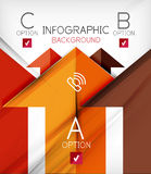 Infographic abstract background Royalty Free Stock Photos