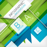 Infographic abstract background Stock Photography