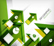 Infographic abstract background Stock Image