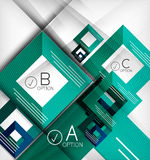 Infographic abstract background Royalty Free Stock Photo